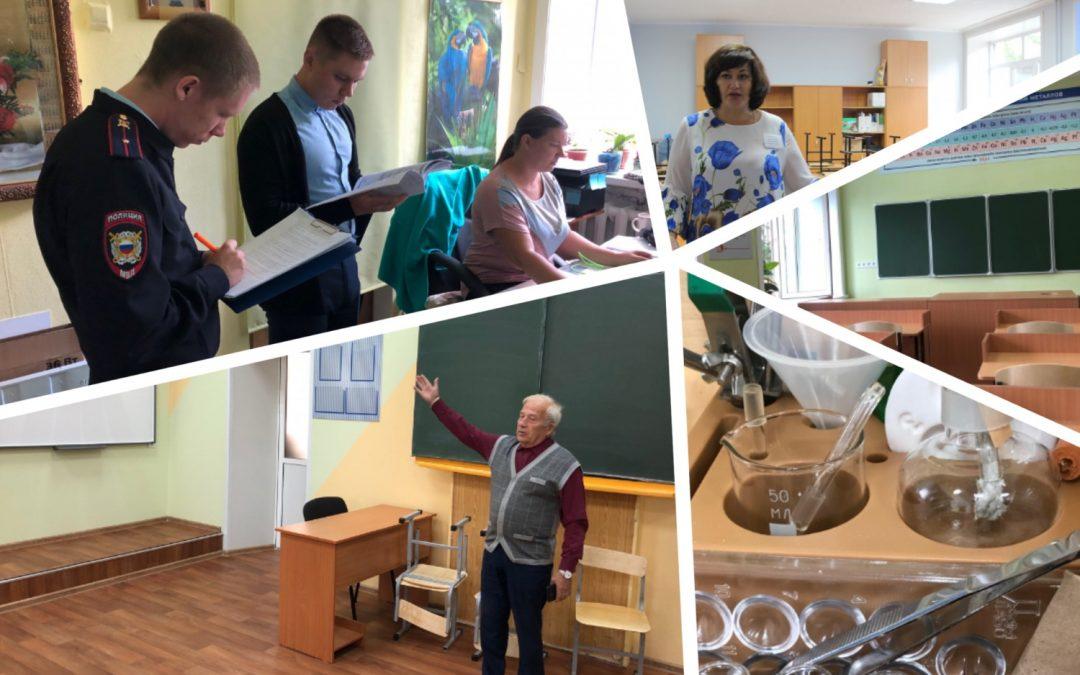 Завершается работа комиссий по приемке образовательных учреждений Ангарского округа
