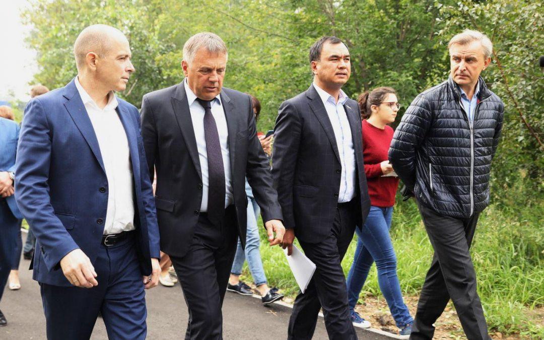Сергей Сокол проверил ремонт дорог