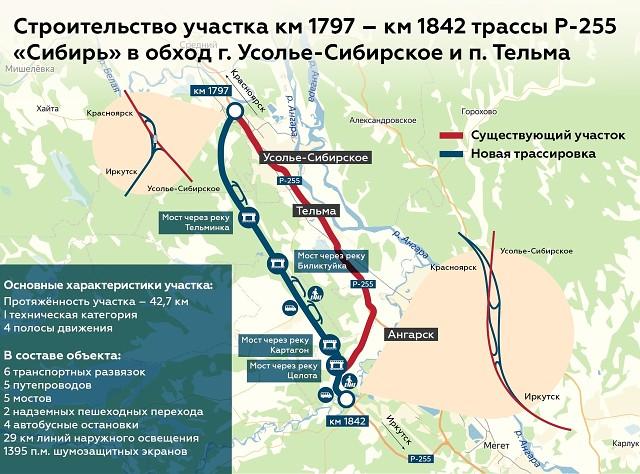 Дорогу в обход Усолья-Сибирского построят до 2024 года (видео)