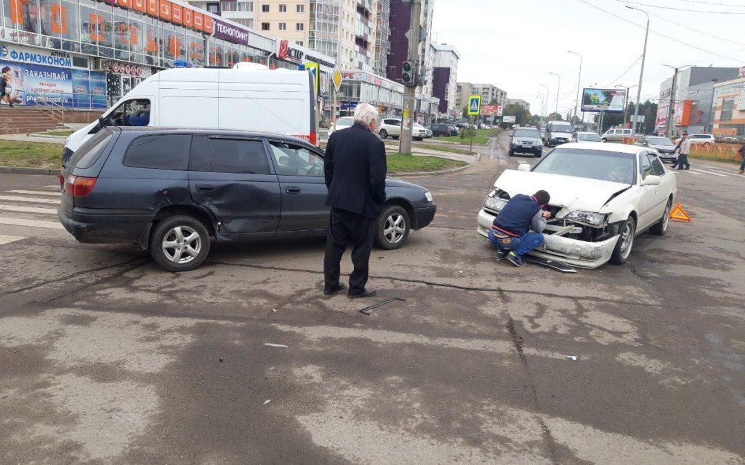 Сводка дорожно-транспортных происшествий за неделю в Ангарске.