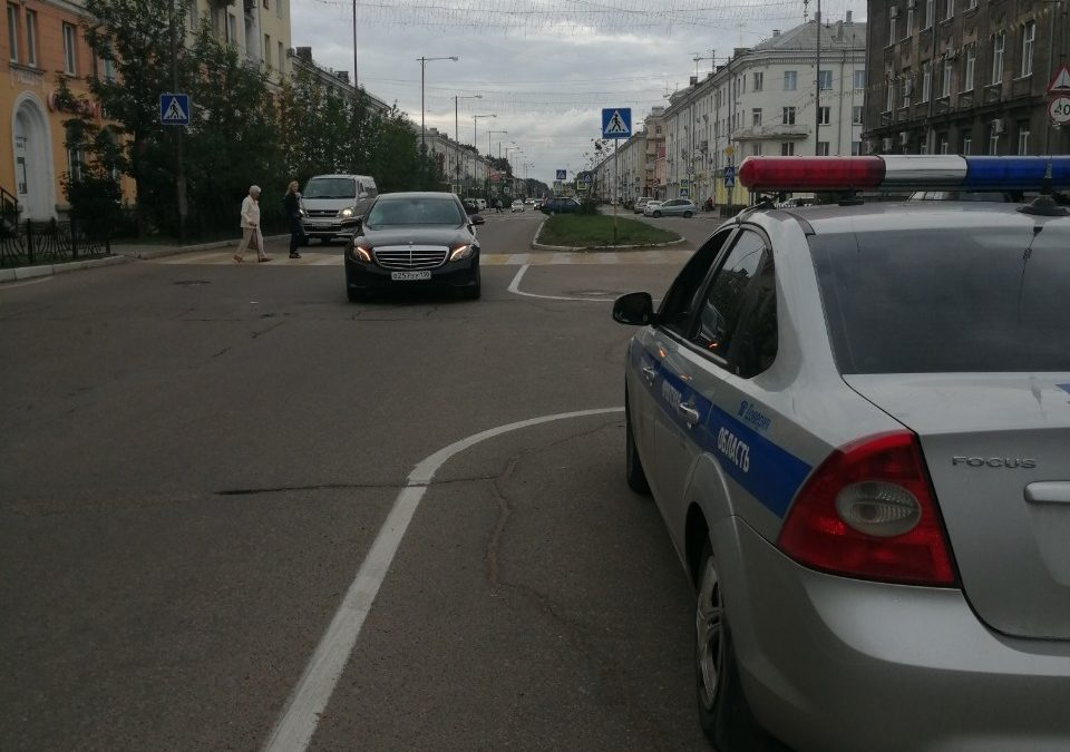 ДТП на площади Ленина. Пострадавший госпитализирован