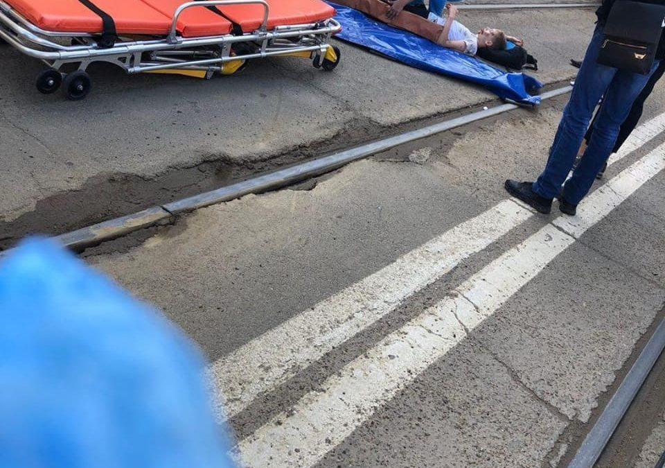 ДТП на Горького. Сбили мальчика.