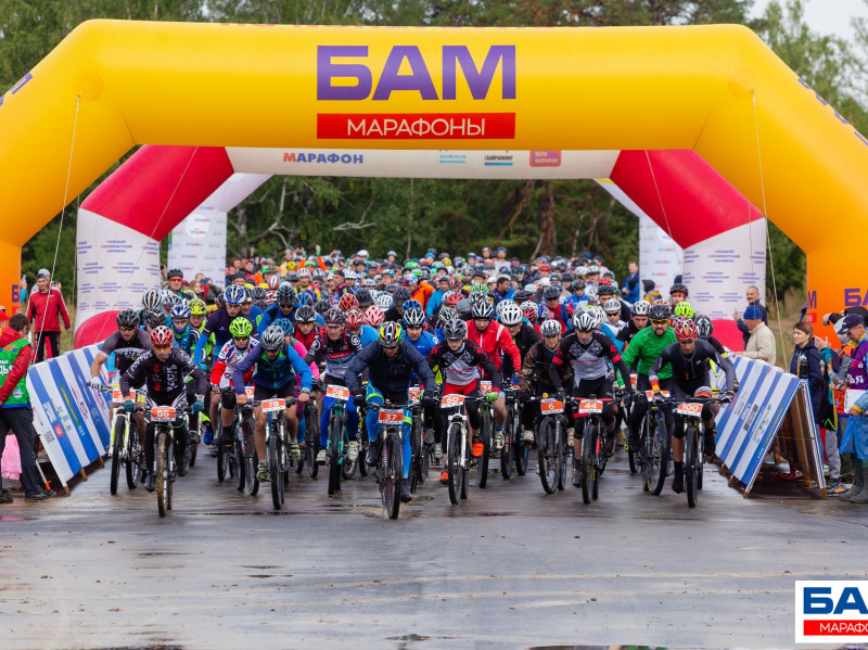 Рекордное количество на «ВелоБАМе» — 400 человек.