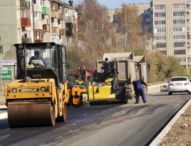 В Ангарске завершается капитальный ремонт участка улицы Декабристов.