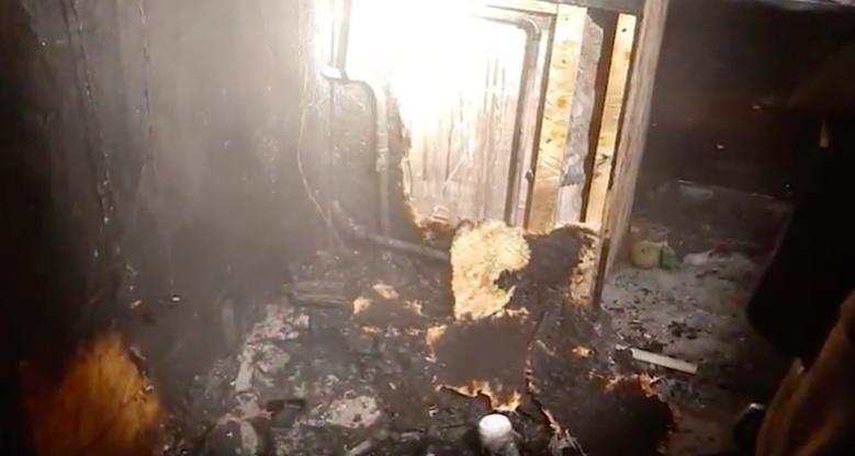 Сразу два пожара произошло в минувшие выходные на территории 29 микрорайона.