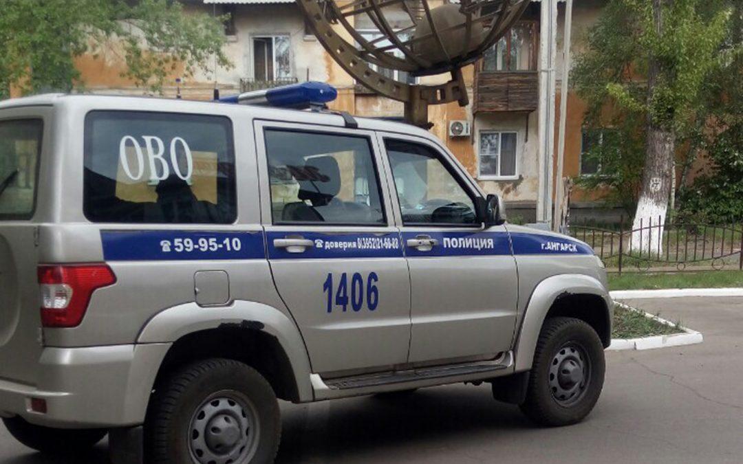 В Ангарске предотвратили кражу на охраняемом объекте.