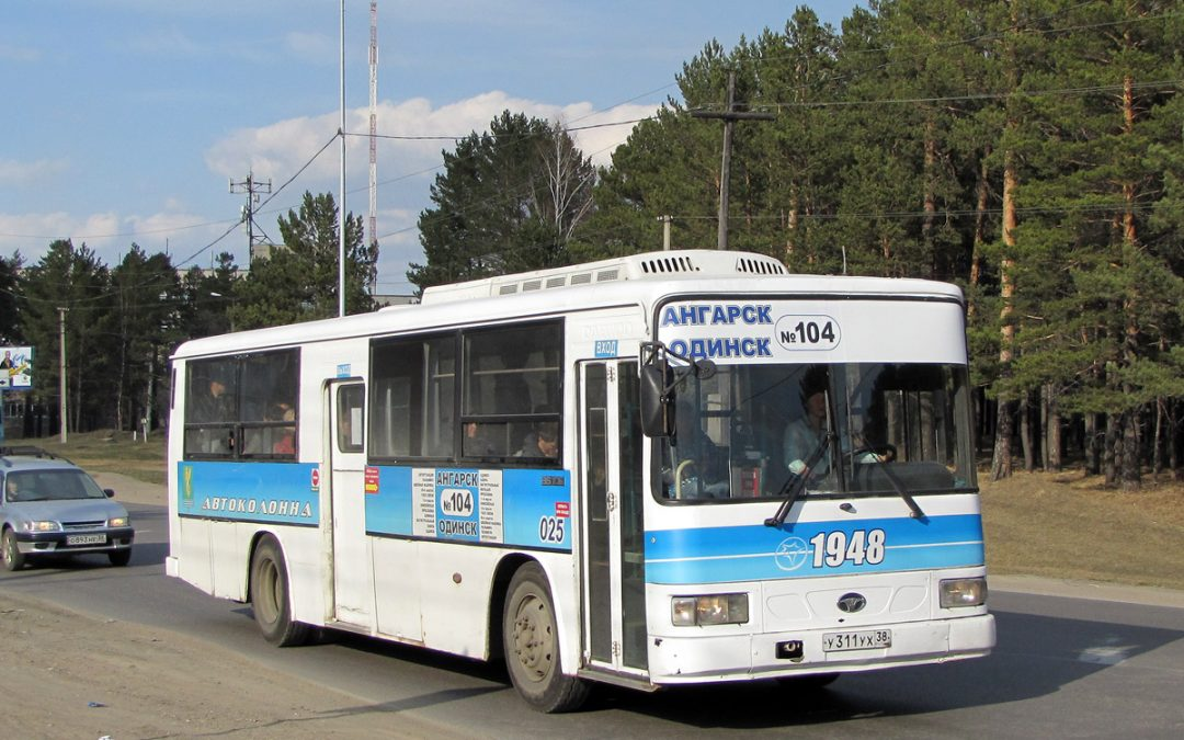 Расписание автобуса 104 Ангарск  — с.Одинск