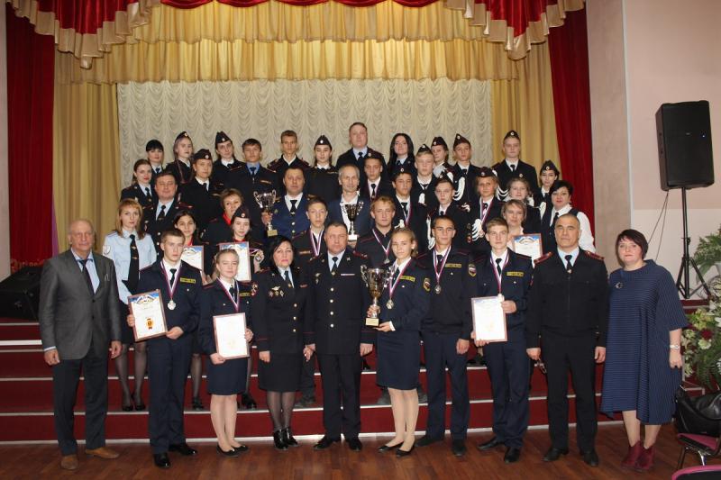 Лучшим МВД классом стал 11 класс ангарской 37 школы!