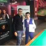 Ангарчанин стал бронзовым призером чемпионата СФО по бильярдному спорту.