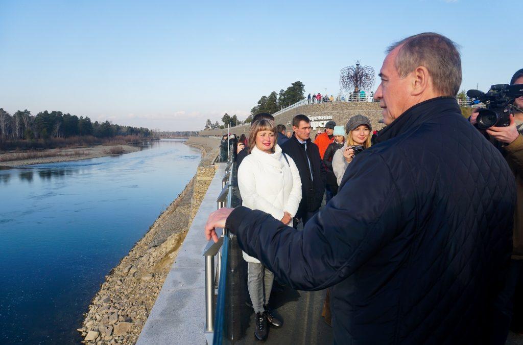 75 млн рублей выделили на берегоукрепление реки Китой в Ангарске.
