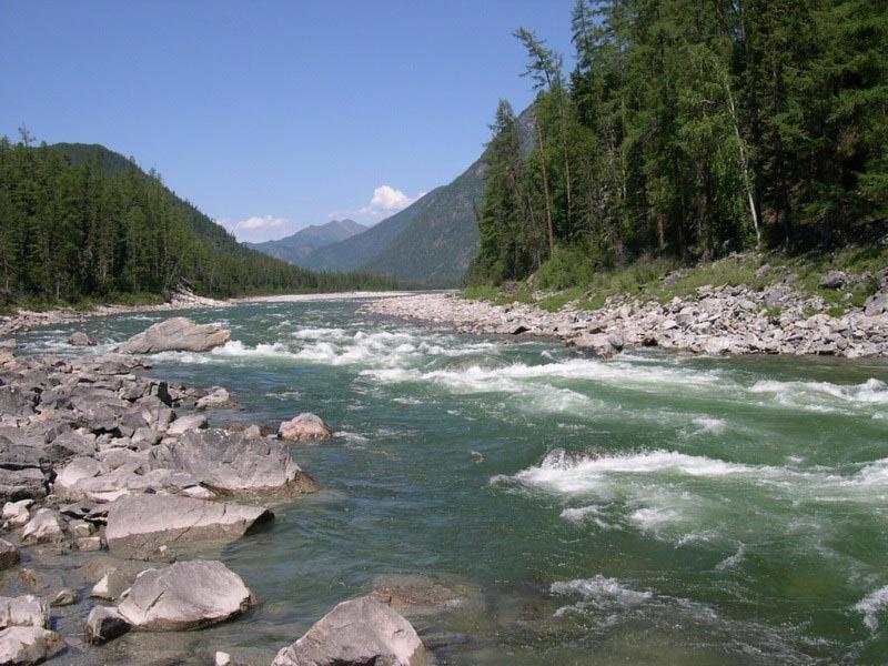 История реки Китой…