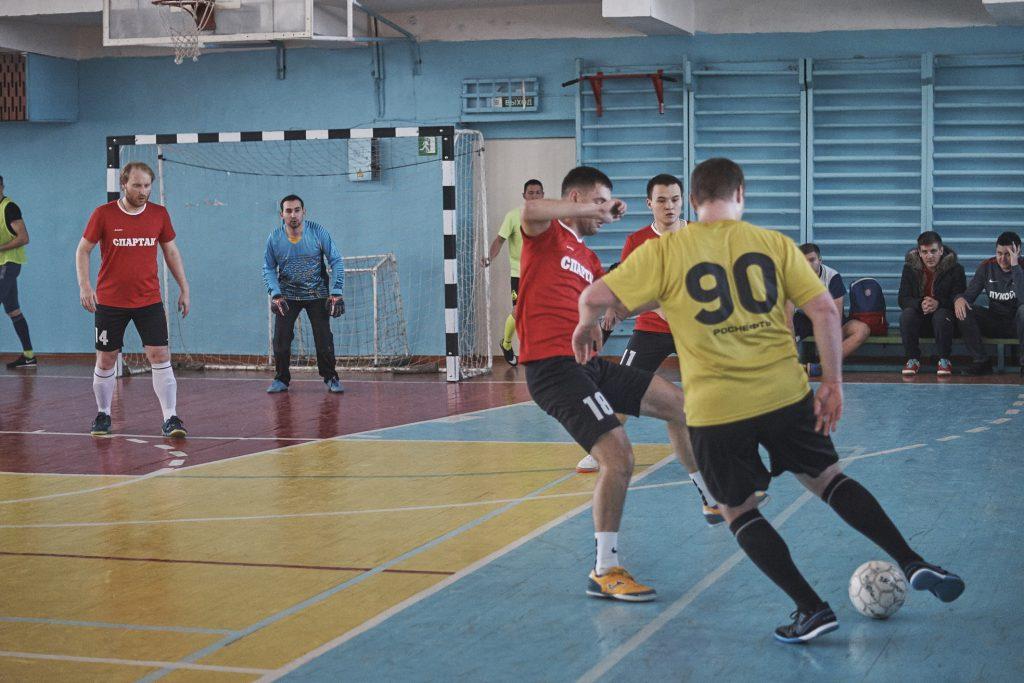 Любительский футбол Ангарска