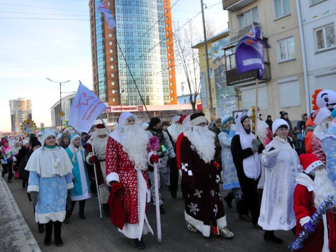 21 декабря в Ангарском округе состоится открытие городской ёлки и ледовых городков.