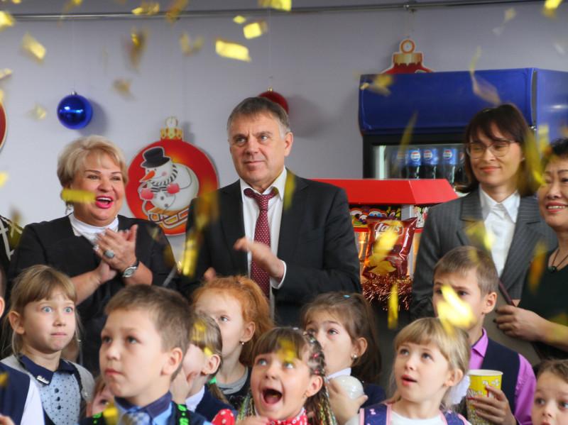 Модернизированный кинозал открылся в ДК «Лесник» микрорайона Китой в рамках национального проекта «Культура».