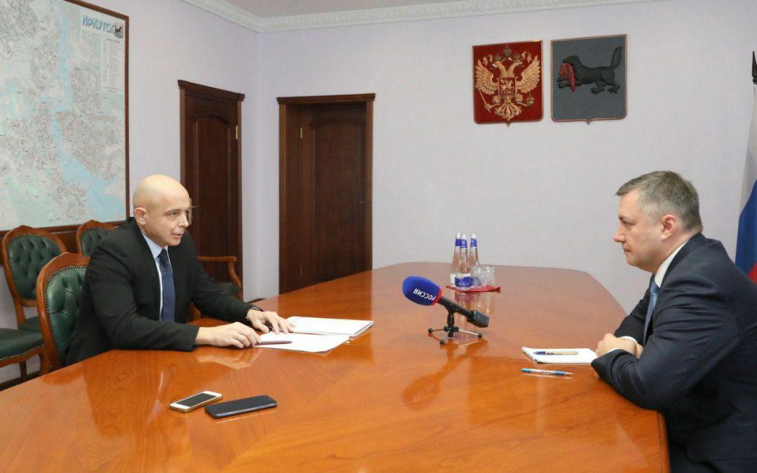 Игорь Кобзев и Сергей Сокол обсудили взаимодействие правительства и ЗС.