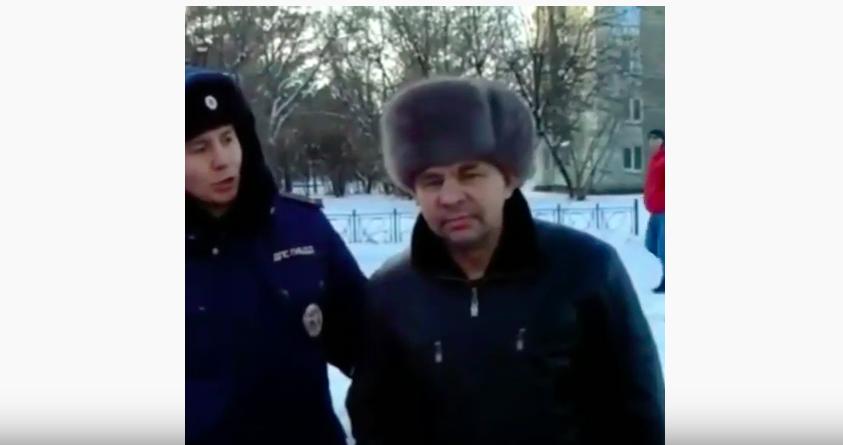 Пьяный водитель в Ангарске не смог объяснить куда он ехал.