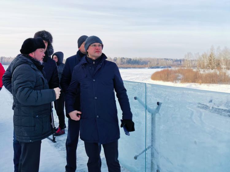 Стартовала предпроектная подготовка строительства пешеходного моста через реку Китой в районе ангарской набережной.