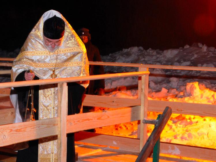 В Ангарске ведется подготовка к празднованию Крещения Господня.