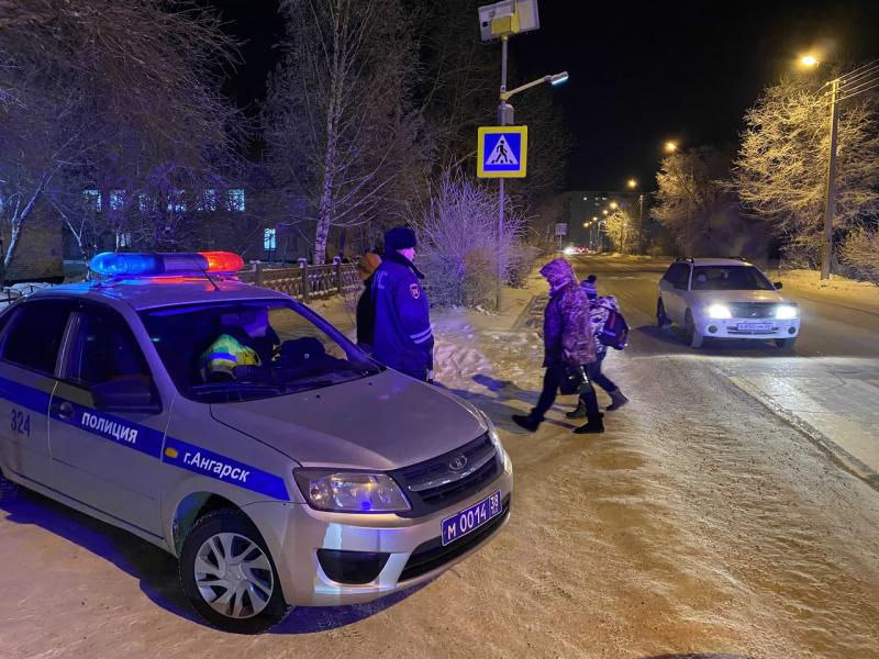 В Ангарске прошел профилактический рейд «После каникул в школу по безопасному маршруту!»