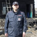 Ангарских полицейских наградили за спасение людей на пожаре.