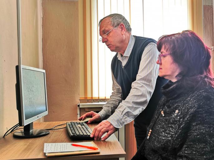 Первая группа участников проекта «Бабушка-онлайн» 2020 года приступила к занятиям.