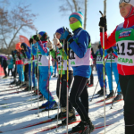 Более 1000 человек стали участниками спортивного праздника «Ангарск, на лыжи!»