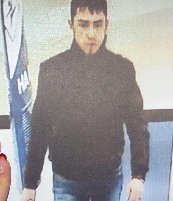 В Ангарске полиция разыскивает не оплатившего товар мужчину