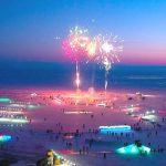 Каток в виде воздушного шара откроется в Листвянке 23 февраля.