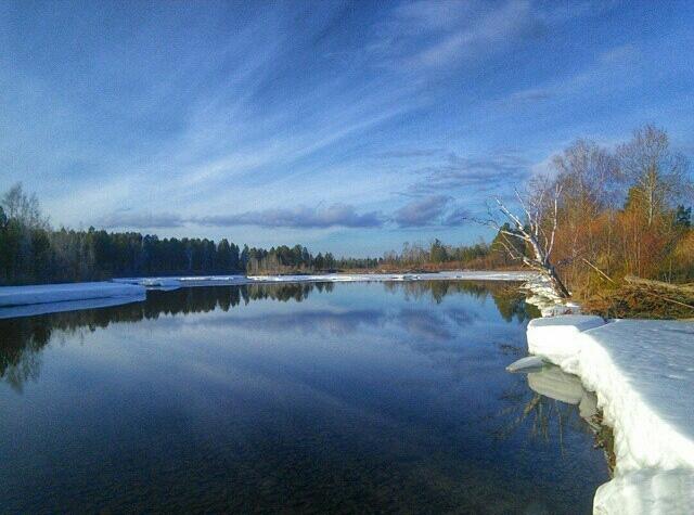 Вскрытие рек Иркутской области начнется во второй декаде апреля