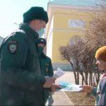 На улицы Ангарска вышли полицейские патрули