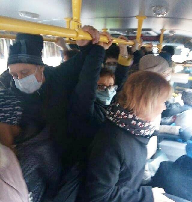 Проверка не выявила переполненных автобусов