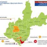 Обновлена карта распространения коронавирусной инфекции в Приангарье