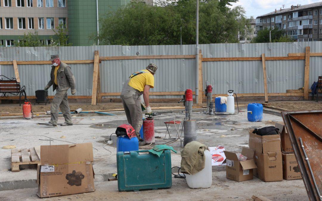 Сквер и еще один фонтан откроются в Ангарске в середине июня