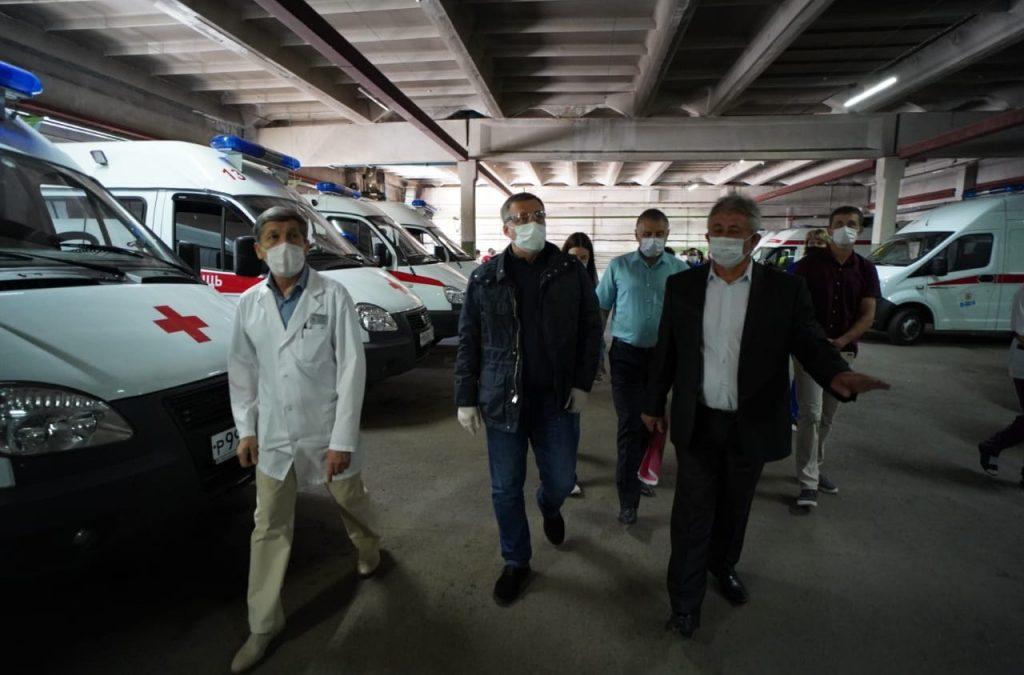 Новый автомобиль поступит в ангарскую «скорую помощь» в июне
