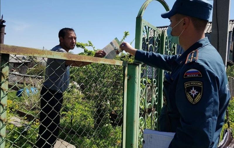 Особый противопожарный режим в южных районах области отменен