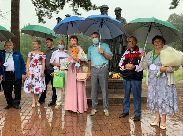 В День семьи в Ангарске состоялось чествование пар – юбиляров