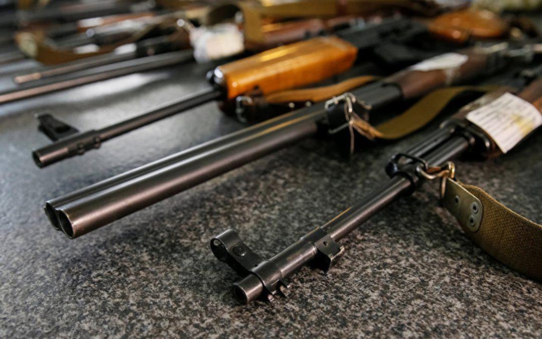 За полгода у жителей Иркутской области изъято более 2 тысяч единиц оружия