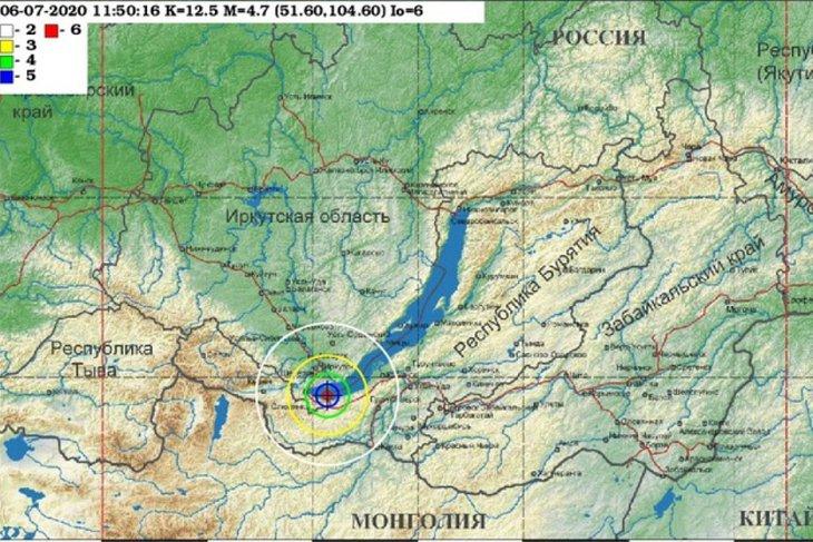 Землетрясение сотрясло юг Иркутской области вечером 6 июля