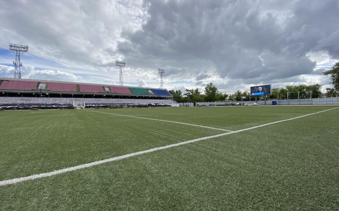 Стадион «Ангара» в Ангарске к юбилею города отремонтируют полностью