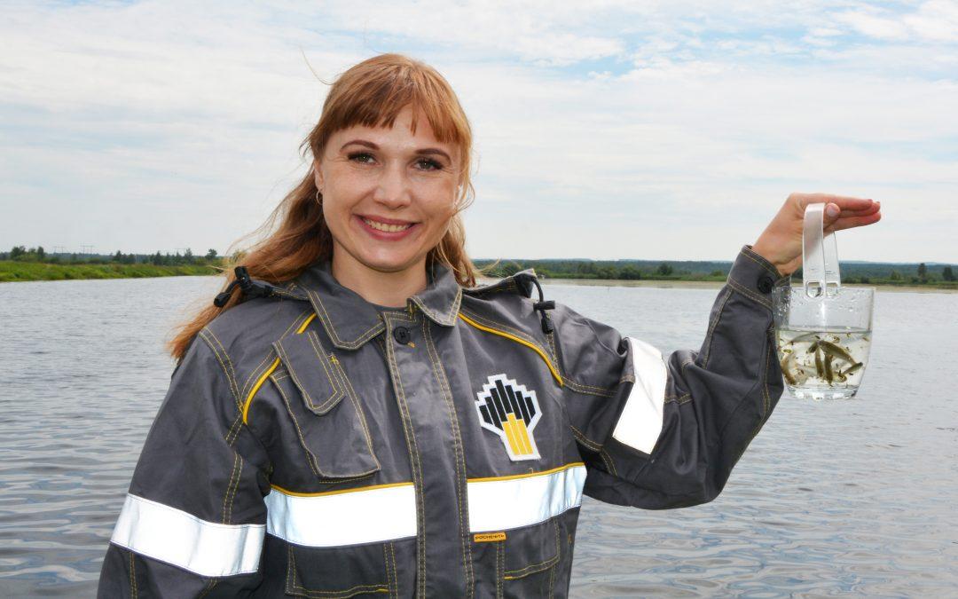 10 тысяч мальков пеляди выпущено в Братское водохранилище (фото)