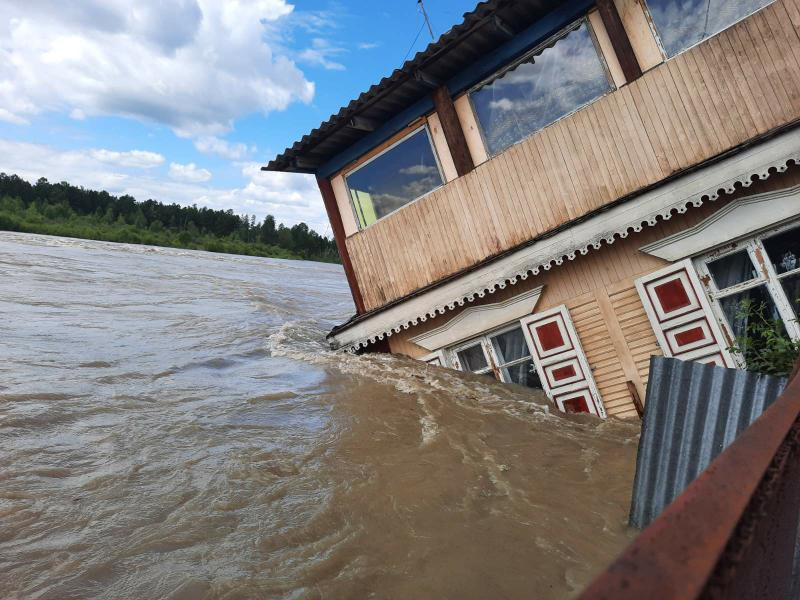 Разлив реки Китой спрогнозировали метеорологи 9 и 10 августа