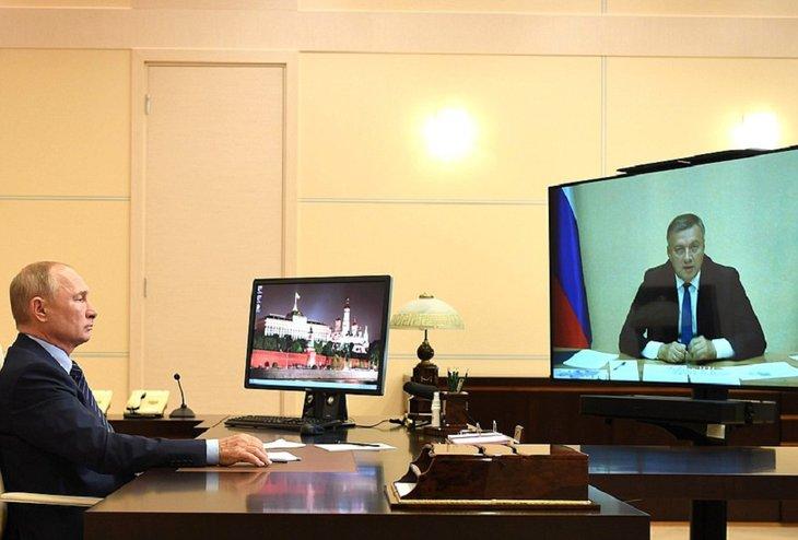 Путин поддержал выделение Иркутской области 10 млрд рублей помощи