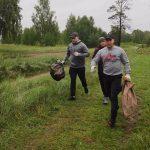 В Ангарске росгвардейцы приняли участие в эко-пробежке