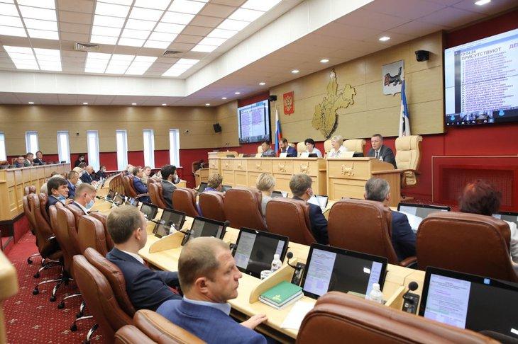 В ЗС Иркутской области приняли закон о поддержке медиков