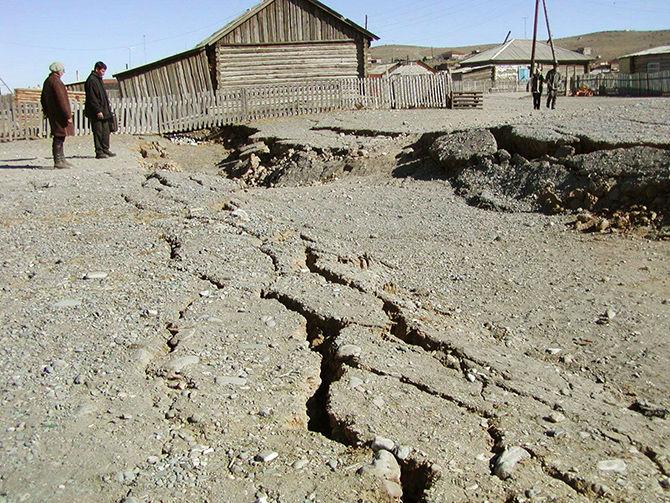 Крупнейшие землетрясения в истории Иркутской области