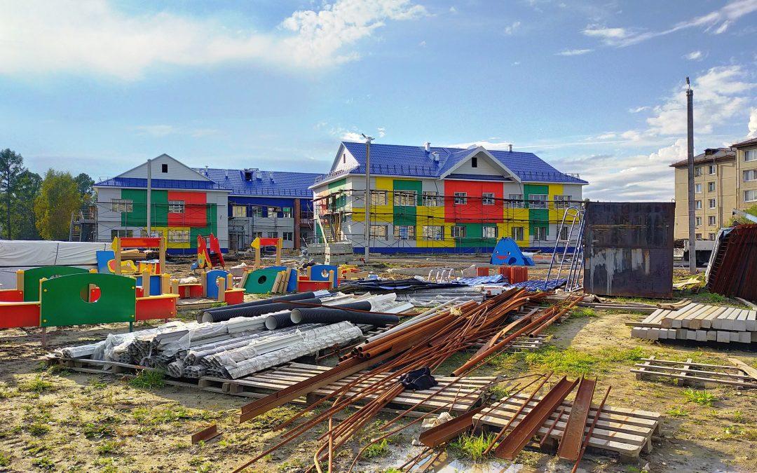 Детский сад в 17 микрорайоне будет сдан к концу года