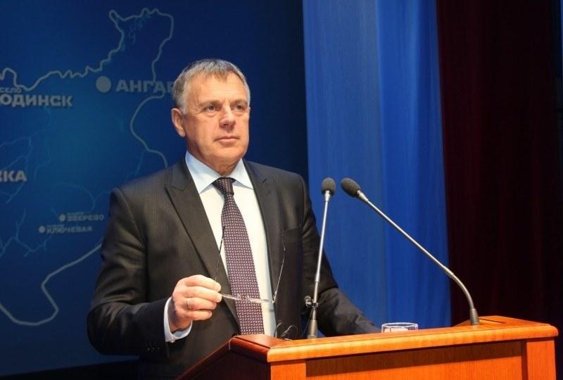 Мэром Ангарского округа переизбран С.А. Петров