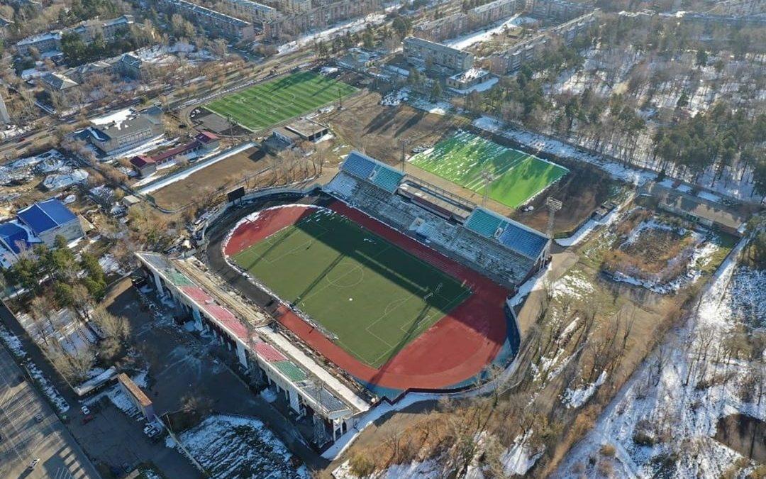 Замминистра спорта рассказал, когда завершат ремонт стадиона «Ангара»