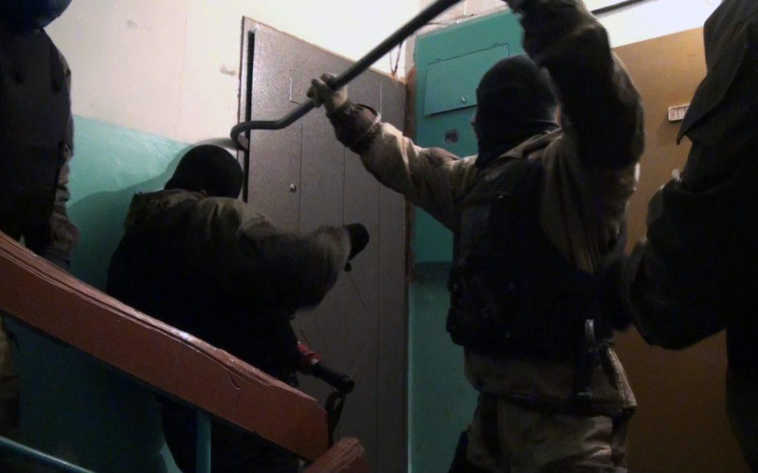 В Ангарске задержана банда наркоторговцев (видео)
