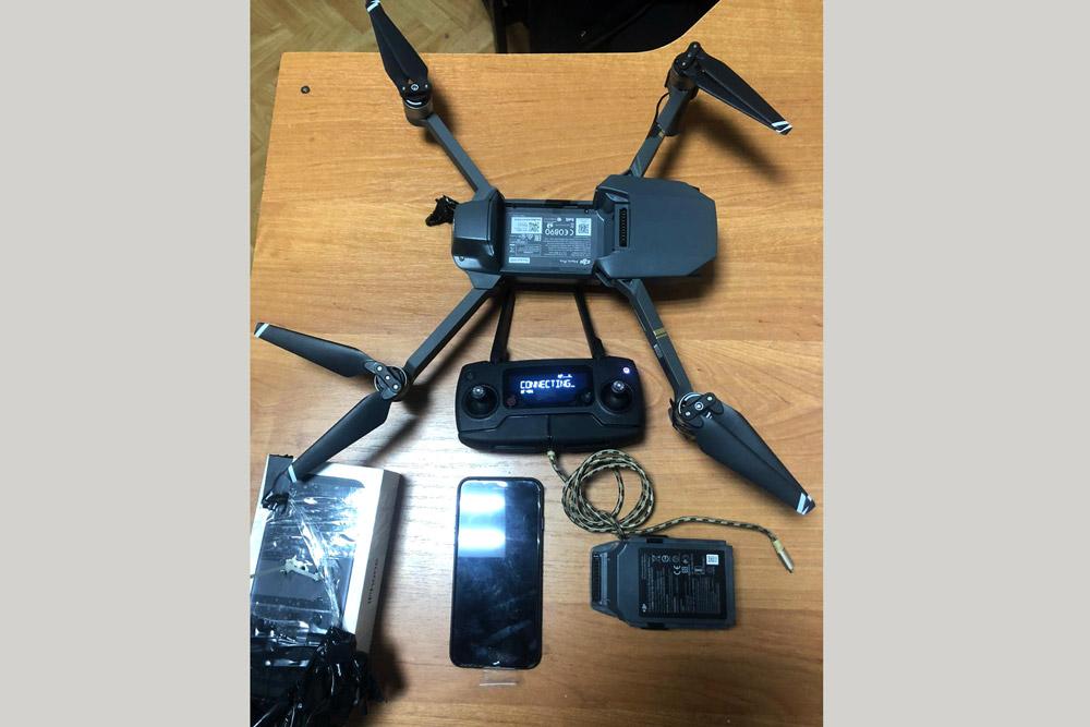 Для передачи запрещенных предметов в ИК-14 использовали беспилотник